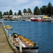 Port Fairy Fisherman's Wharf, on the Moyne River